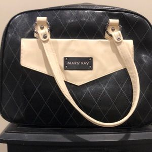Handbags - Mary Kay black and cream tote.